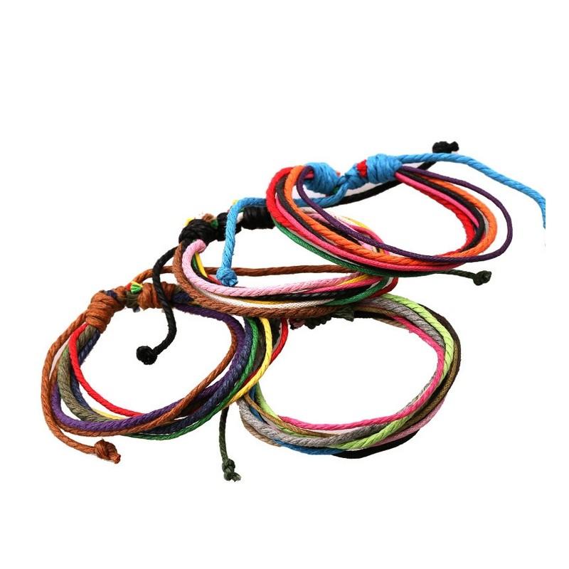 bracelet couleurs en corde bracelets homme. Black Bedroom Furniture Sets. Home Design Ideas