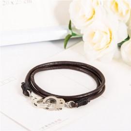 """bracelet cuir """"menotte"""""""