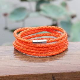 """bracelet homme  cuir """"spécial poignet fin"""""""