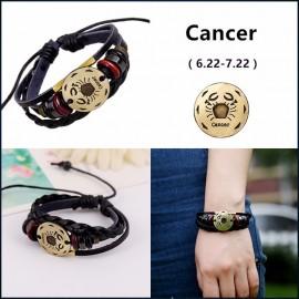bracelet signe zodiaque cancer