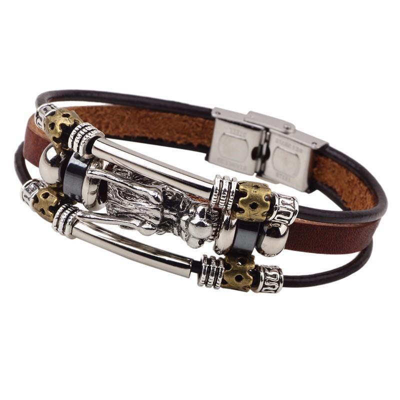 "bracelet tribal ""tête de dragon"" - Bracelets Homme"