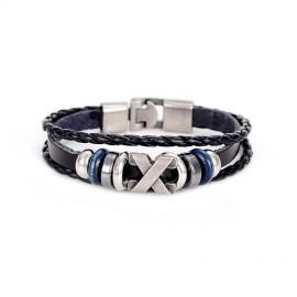 """bracelet cuir """"pirate"""""""