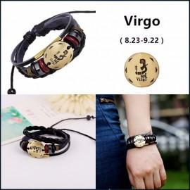 bracelet signe zodiaque vierge
