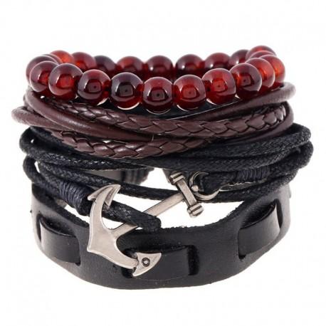 """bracelet multicouches """"marine"""""""