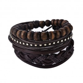 "bracelet homme multicouche ""oriental"""