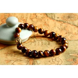 "bracelet perle ""bouddha"""
