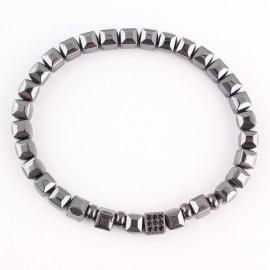 bracelet perles cubiques