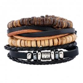 """bracelet multicouche """"le double-double"""""""