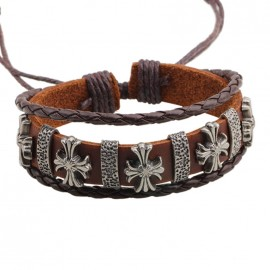 bracelet cuir médiéval