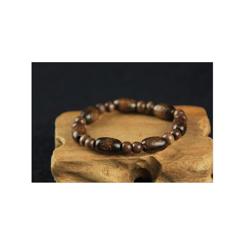 bracelet perles en bois bracelets homme. Black Bedroom Furniture Sets. Home Design Ideas