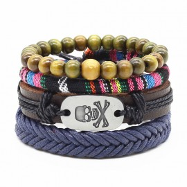 "bracelet multi couches ""pep's"""