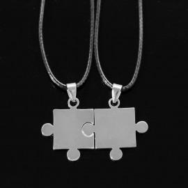 """pendentif """"duo puzzle """""""