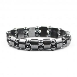 bracelet double hématite