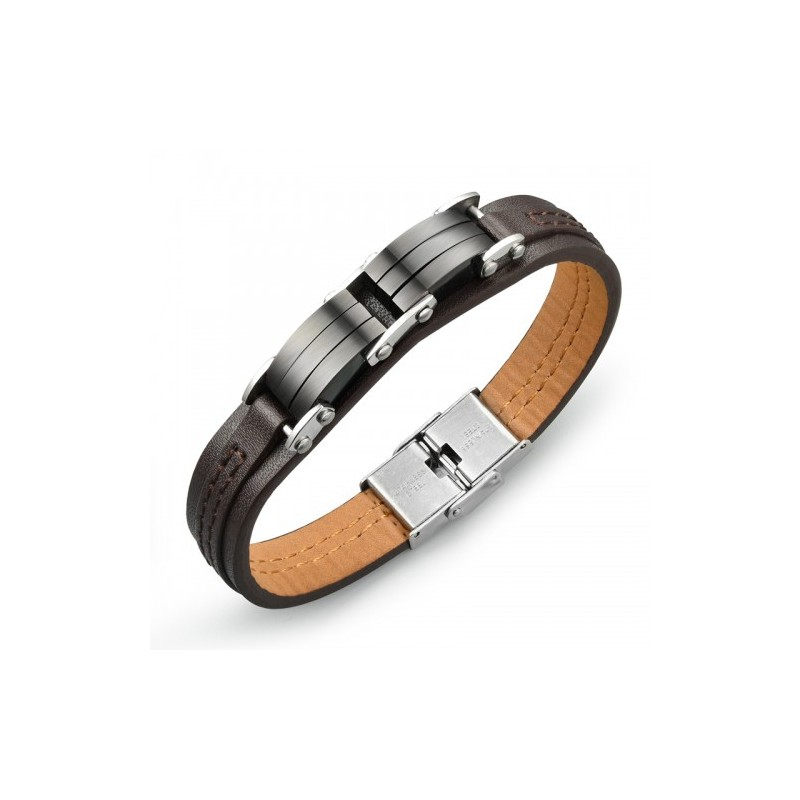 Bracelet homme imitation cuir