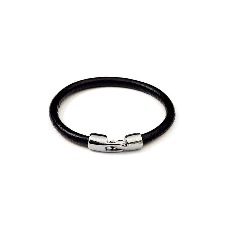 Bracelet cuir homme 17cm