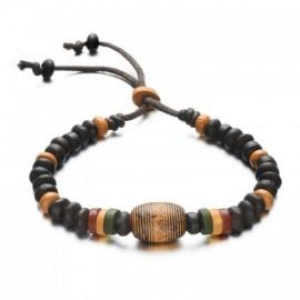 bracelet homme en perles d'argile