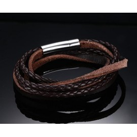 bracelet homme multi liens