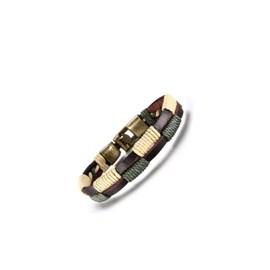 Bracelet homme en cuir façon tribal, racé et intemporel !