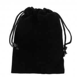 sac en velours noir pour bracelet
