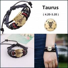bracelet signe zodiaque taureau