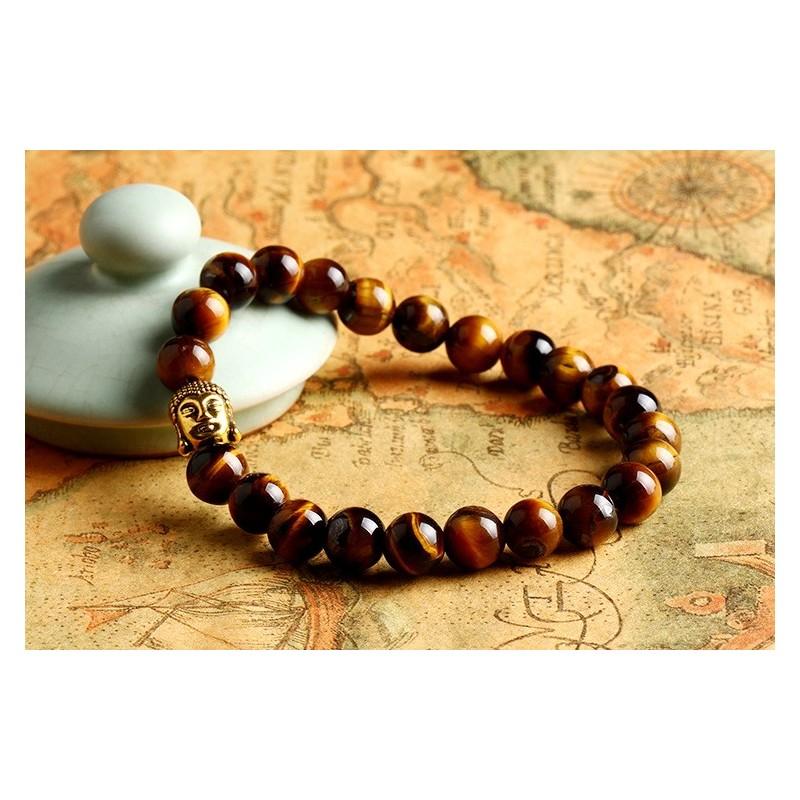 Bracelet homme grosse perle