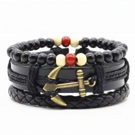 """bracelet multicouches """"l'aventurier"""""""