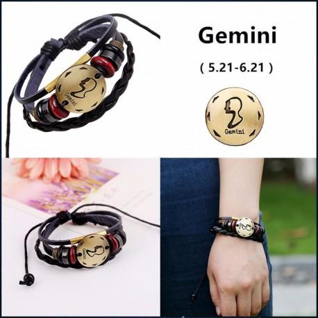 bracelet signe zodiaque gémeaux
